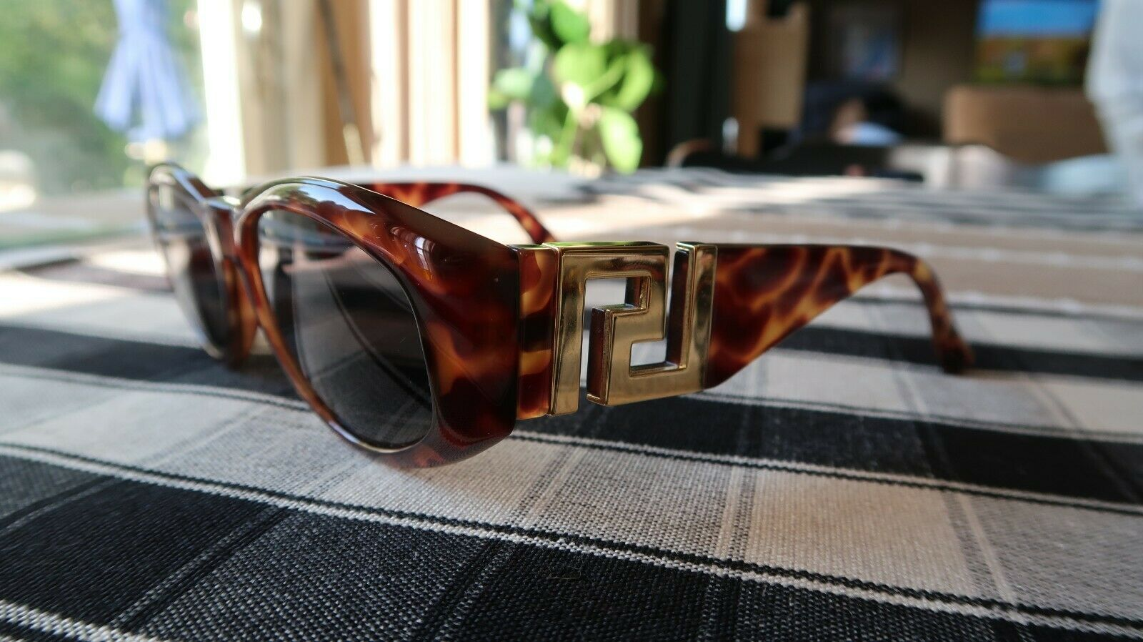 Vintage Gianni Versace 90s MOD T24 Sunglasses Tor… - image 1