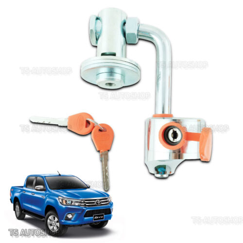 For TOYOTA HILUX REVO M70 M80 SR5 2015-ON 2S SPARE WHEEL TYRE LOCK TECH PROTECT