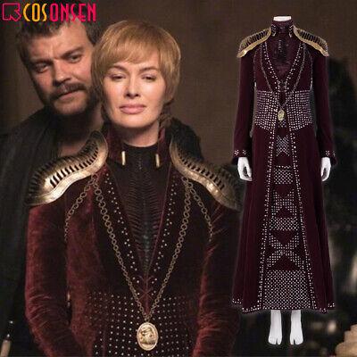Cosonsen 2019 Game of Thrones 8 Costume Arya Stark Halloween Outfits Lot