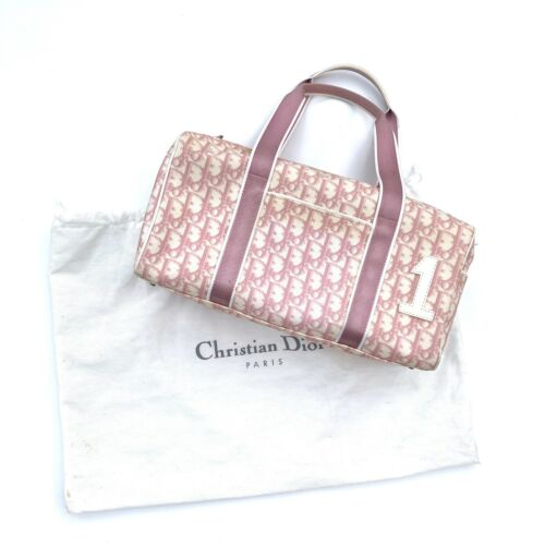 Christian Dior Vintage Small Boston Bag Trotter Mo