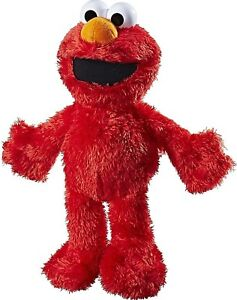 Tickle-Me-Elmo-Playskool-Friends-Sesame-Street-Stuffed-Toy-For-Kids-2-dayShip