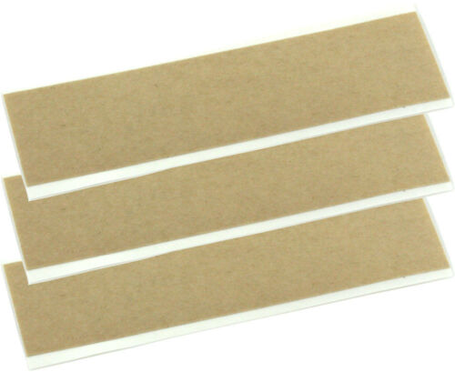 3 Double Sided Acoustically Transparent Adhesive Strips for Contact Pickups