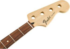 NEW-Fender-Standard-Jazz-Bass-Replacement-NECK-Parts-Pau-Ferro-0996203921