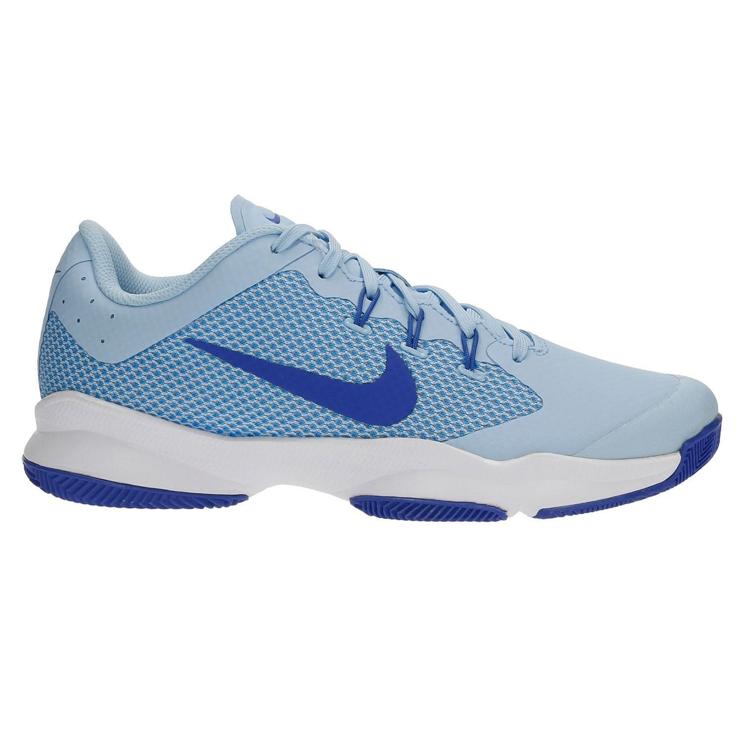 Damenschuhe NIKE AIR ZOOM ULTRA Ice Blau Tennis Trainers 845046 401