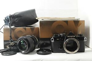 IN BOX Olympus OM-2 Black S ZUIKO MC AUTO ZOOM 35-70mm f/4 from JAPAN by DHL #03