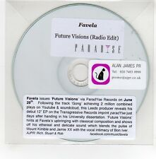 (GE599) Favela, Future Visions - DJ CD