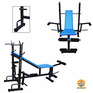Gb Product MULTIPURPOSE 8 IN 1 GYM BENCH FOR GYM