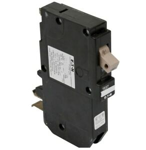 Eaton cutler hammer chfgf115pn 1 pole 15 amp plug on neutral gfci ...