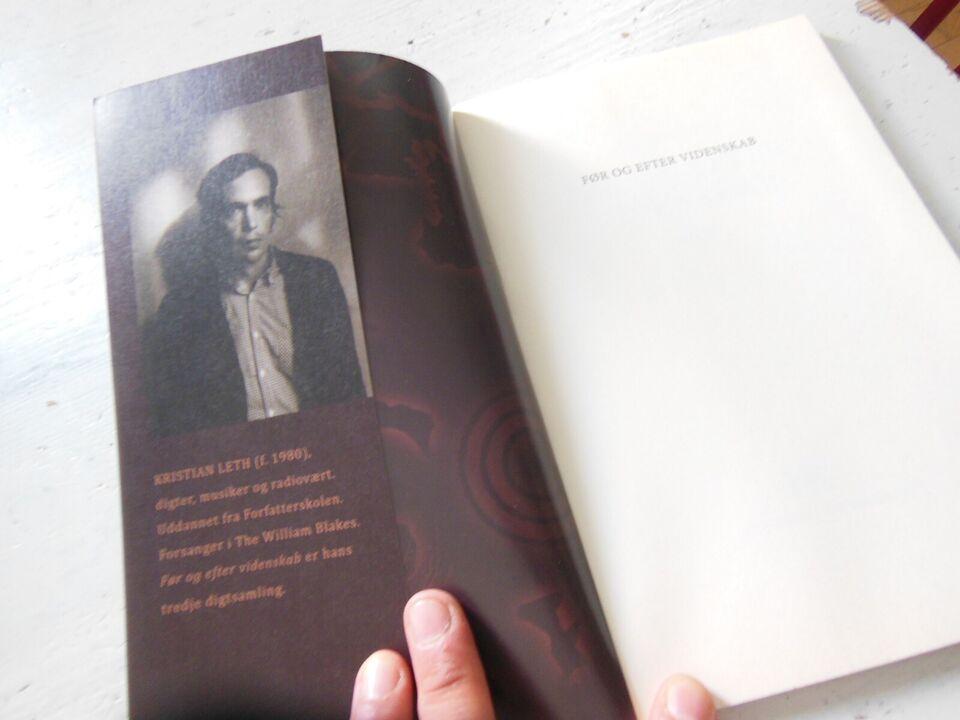 Før og Efter Videnskab, Kristian Leth, genre: digte