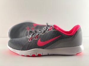 006 Nike Grey Trainer Wolf 7 Flex Grootte Racer 10 Wmns Roze 898479 XrUXz