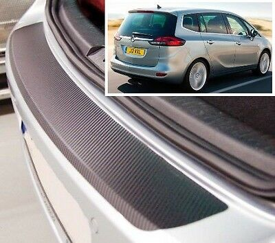 Vauxhall- Opel Zafira Tourer - Carbon Style rear Bumper Protector
