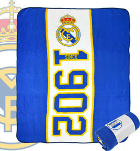 Extragross-Real-Madrid-Fussballverein-Fleece-Decke-Kinder-Jungen-Ventilator