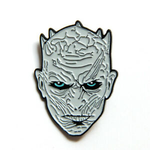 Game-of-Thrones-Night-039-s-King-Enamel-Pins-Metal-Brooches-Badge-Cosplay-Fans-Gifts