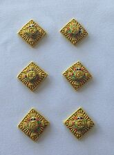 Captain Rank, Officer Rank Stars, Pips, Capt, Army, Military, Mess Dress, Gold