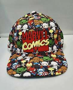 Image is loading Marvel-Comics-The-Avengers-Adjustable-Fashion-Baseball-Cap- beda3850692f
