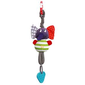 Developmental Baby Musical Rattle Hand Plush Animal Toy Toddler Kids Newborn UK
