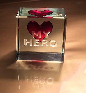 Schön Image Is Loading Spaceform My Hero Glass Token Romantic Valentines Love