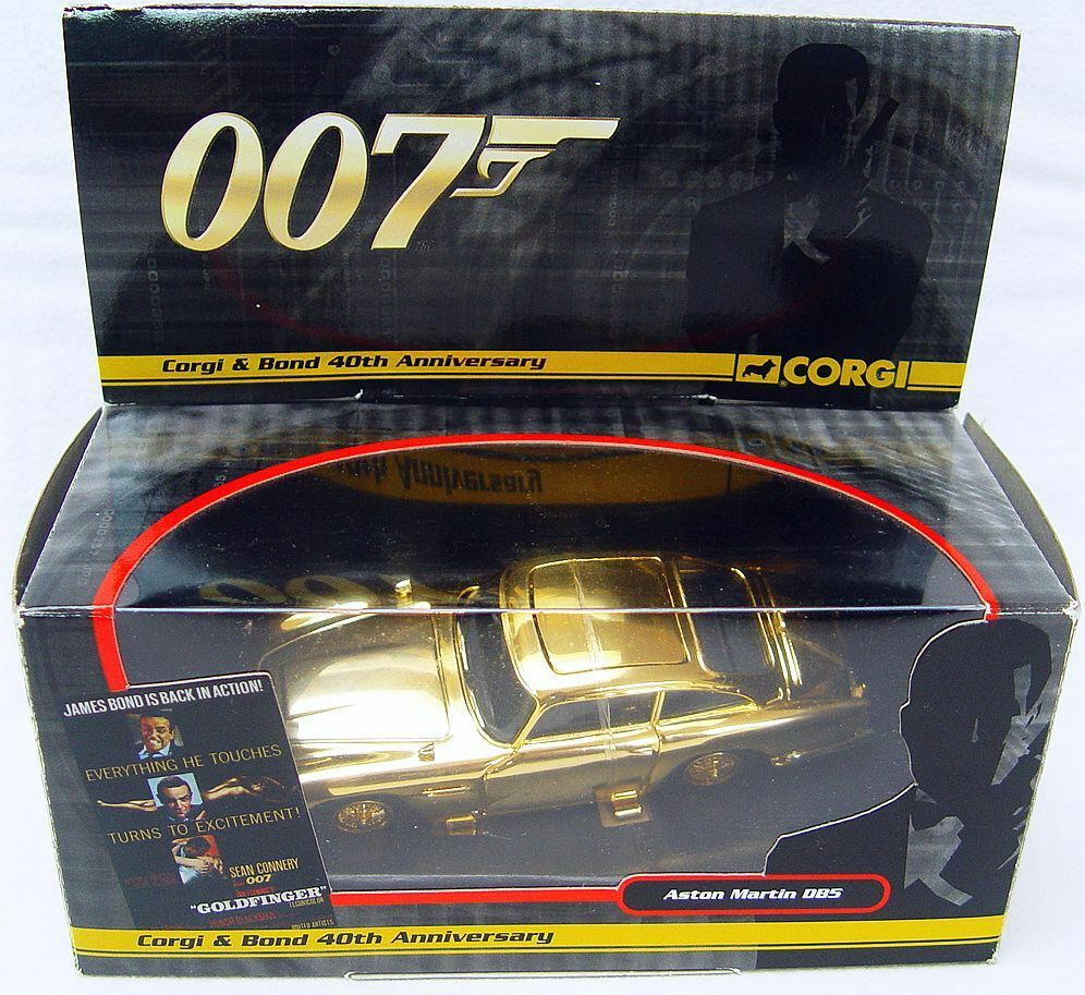 Corgi Toys 1 36 JAMES BOND 007 ASTON MARTIN DB.5 MIB`05 40th Anniversary Ed. `05
