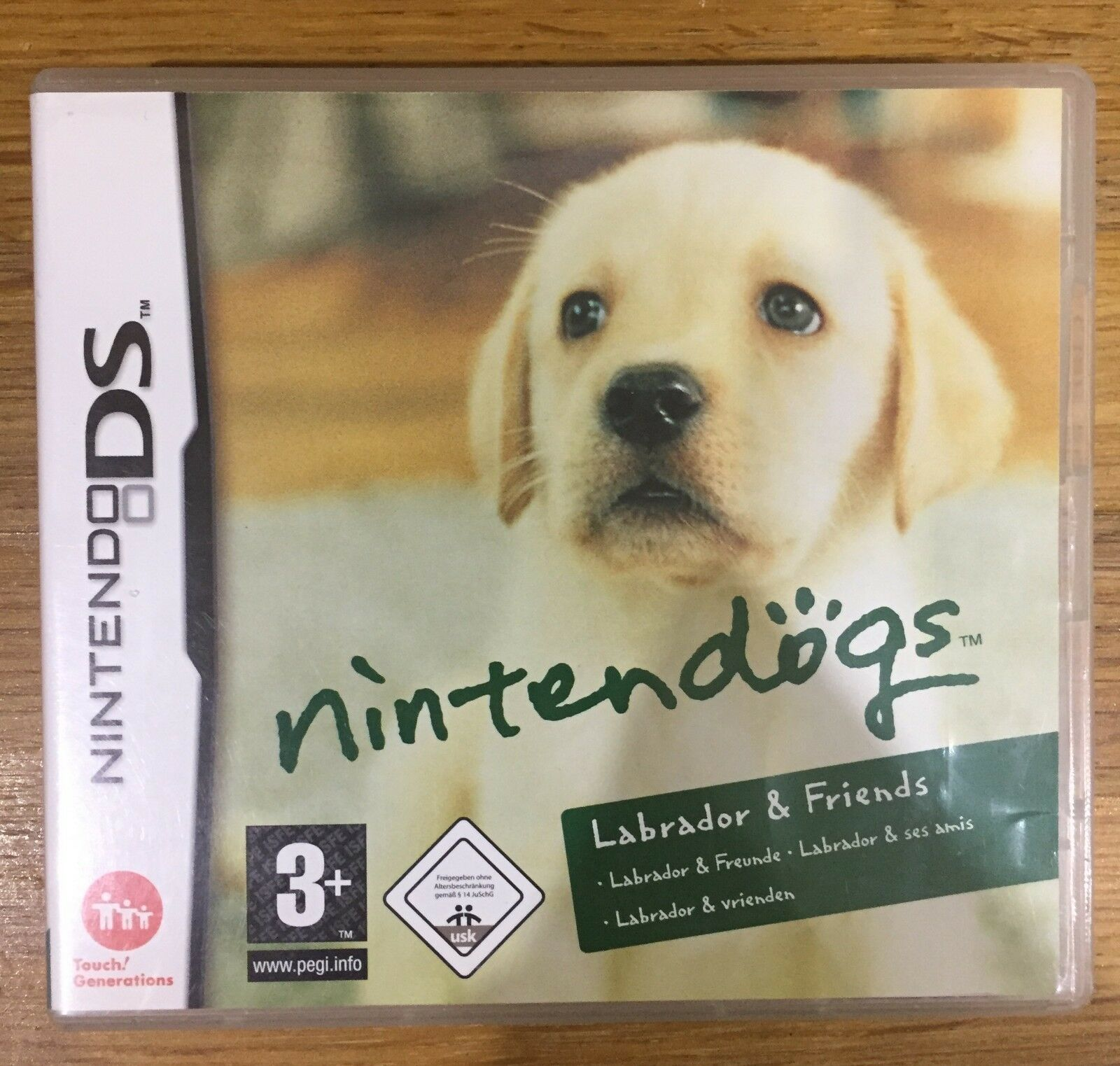 nintendogs ds francais