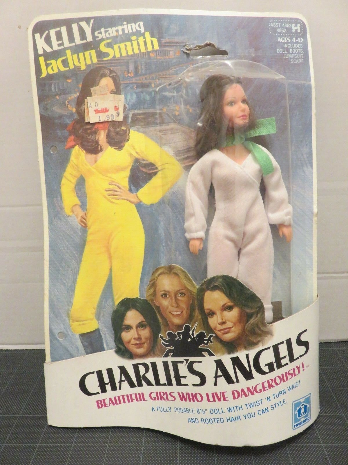 HASBRO Kelly Starring Jaclyn Smith Charlie's Angels 8.5