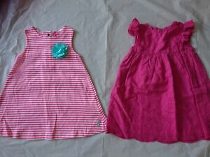 Joules-Jojo-maman-bebe-baby-girl-summer-party-holiday-dress-6-12-9-12-months