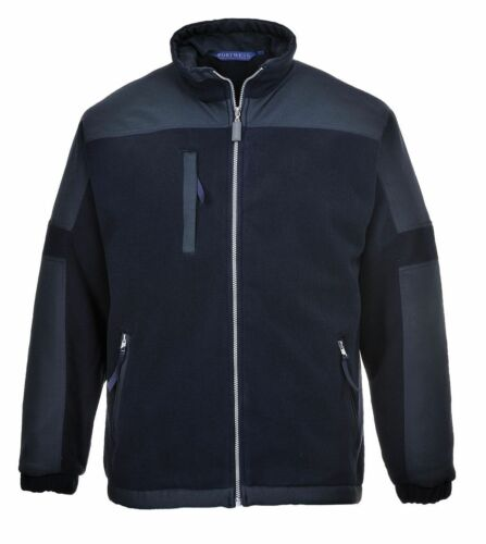 Portwest North Sea Thermal Lined Fleece Jacket Wind Resistant Zipped Coat S665