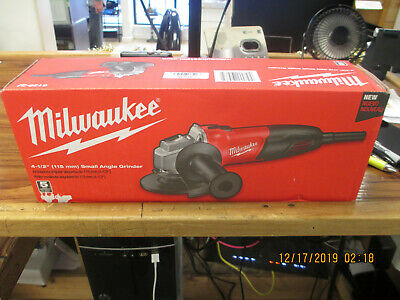 Milwaukee 6130-33 7 Amp 4-1//2-Inch Small Angle Grinder Used U414