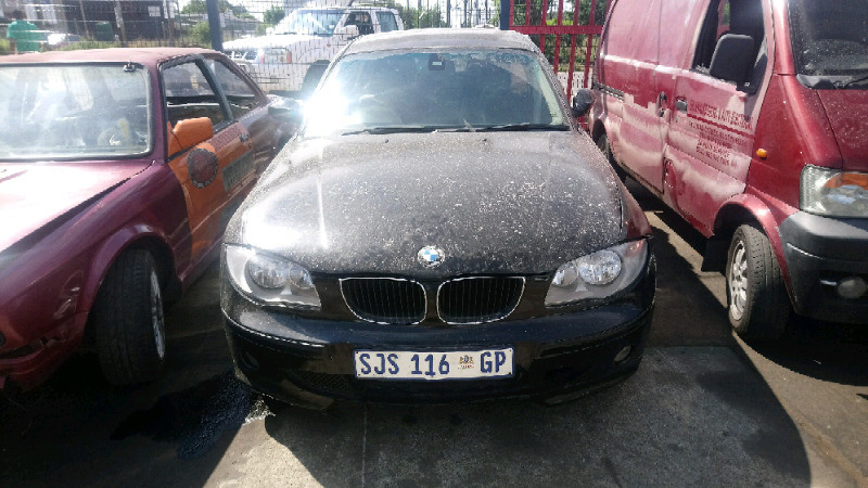 2008 BMW 1 Series Stripping For Spares