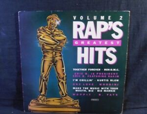 Vinyl-LP-034-Rap-039-s-Greatest-Hits-034-Vol-2-US-Copy-1987