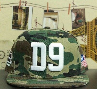 """Cap Snapback """"Cannabis Kid"""" D9 Dnine Reserve  Camouflage Army Style"""