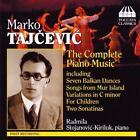 Tajcevic:Piano Music Cpl. von Radmila Stojanovic-Kiriluk (2009)
