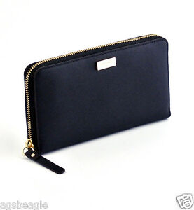 Kate-Spade-Wallet-WLRU1498-Neda-Newbury-Lane-Saffiano-Leather-Black-Agsbeagle