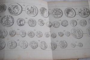 ATLAS-NUMISMATIQUE-ANCIENNE-RORET-12-PLANCHES-MONNAIES-ANCIENNES