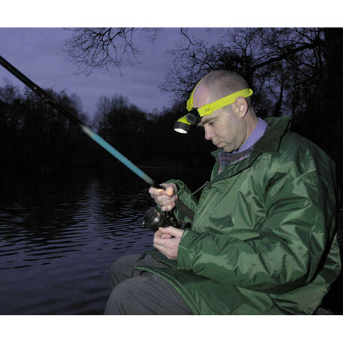Fishing Electricians etc Ideal for Jogging Draper 64268 Head Lamp Head Torch