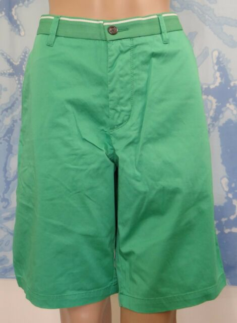 191b43028 Men's Hugo Boss Clyde 1-7- Regular Fit Stretch GAB Shorts Casual Green Size  34