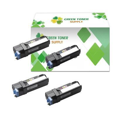 1 pack 2150 Yellow Toner fits Dell 2150 Color cn cdn 2155 2155cn Printer