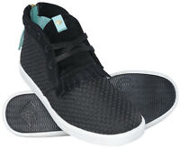 Diamond Supply Co Jasper Mid Boot Chukkas Black Woven 8-14 Streetwear Style
