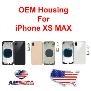 OEM-Replacement-Housing-Back-Frame-Battery-Door-Glass-For-Apple-iPhone-XS-Max