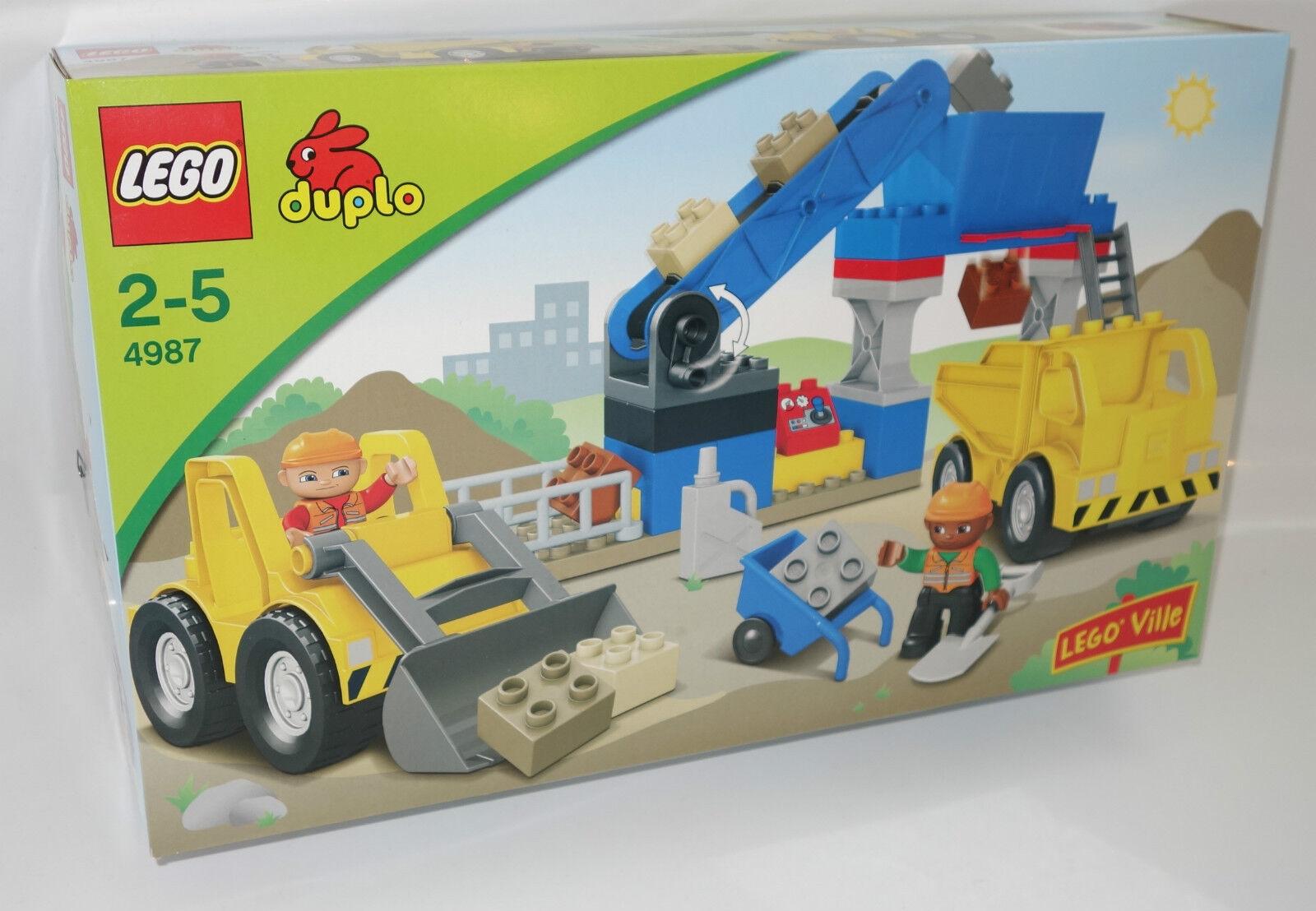 LEGO Bau- & Konstruktionsspielzeug Lego Duplo Kipper Sattelzug mit Radlader,Baustelle