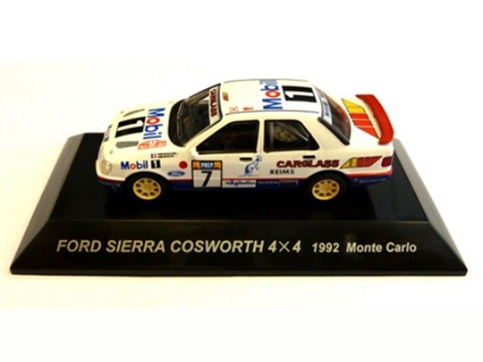 Wow extrêmeHommest rare FORD  SIERRA RS COSWORTH 1992 4x4 M. voiturelo WRC 1 64 cm 'S KYOSHO  nouveau sadie