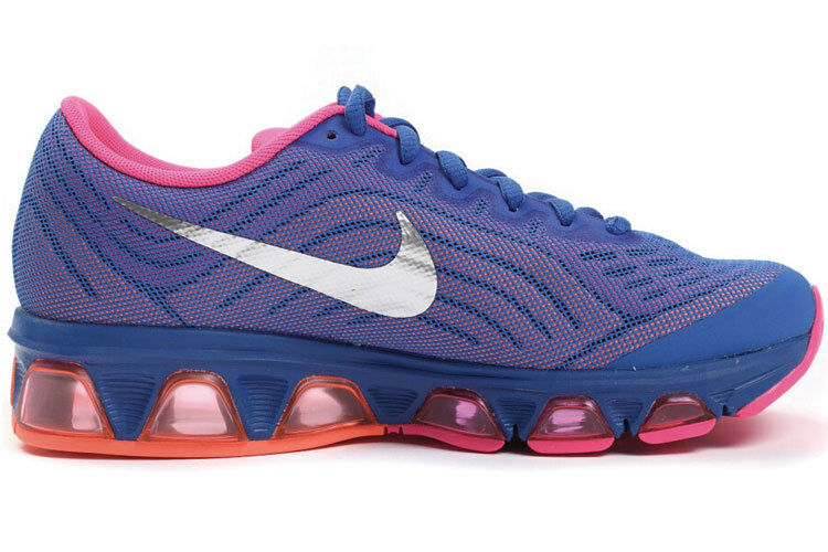 Womens Nike Air Max Tailwind 6 Running Shoes Size 9 Blue Pink Silver ... 221b3efb01