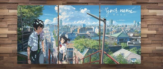 Kimi No Na Wa Anime Poster Your Name Anime Poster Set of 3 High Quality Prints