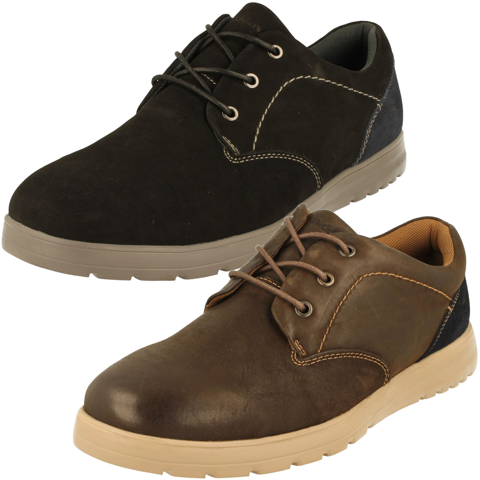 Para Hombre Fit Padders G/H Dual Fit Hombre Zapatos recuperar el estilo 4b59d3