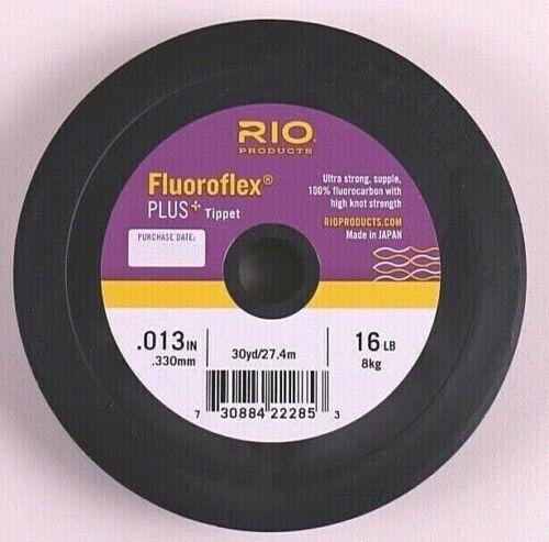 Rio Fluoroflex Plus Tippet Bobines 16 20 25 30 35 40 50 60 80 et 100 Lb environ 45.36 kg