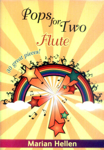 Pops for Two 30 Great Pieces Film TV Pop Songs für Querflöte Flute Noten