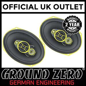 Ground-Zero-GZCF-7104XSPL-7-034-x-10-034-4-Way-600-Watts-Coaxial-Car-Van-Speaker