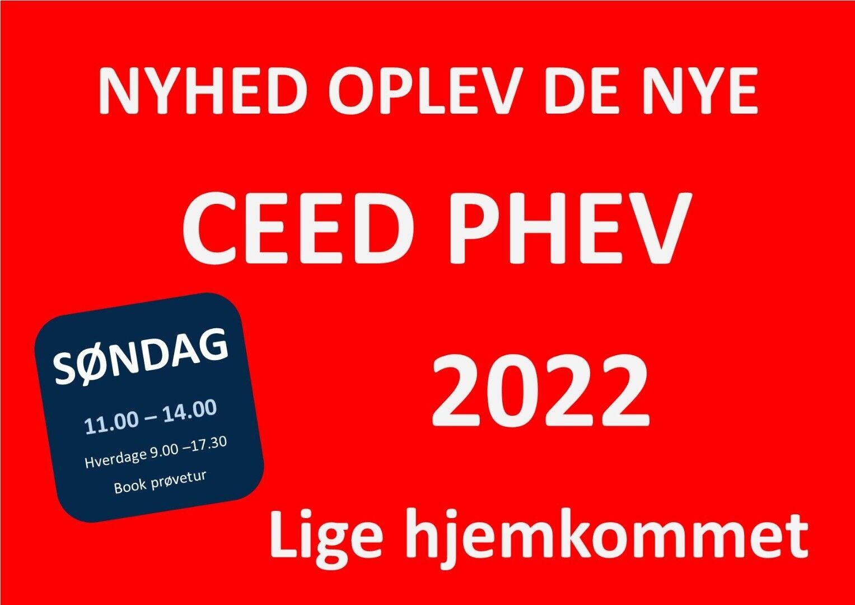 Kia Ceed 1,6 PHEV Prestige SW DCT 5d - 259.900 kr.