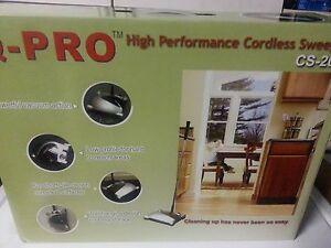 Q Pro Rechargeable Cordless Sweeper Carpet Floor Stick
