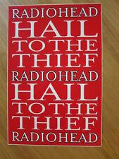 RADIOHEAD Hail to the Thief Promo poster a