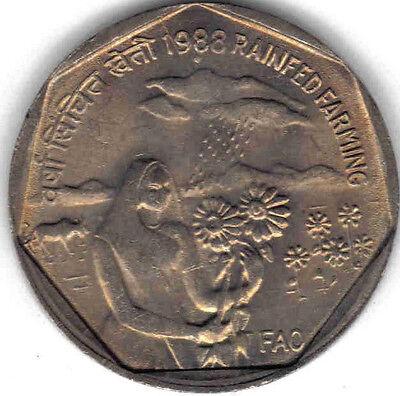 INDIA UNCIRCULATED 2005 COMMEMORATIVE 1 RUPEE KM #322